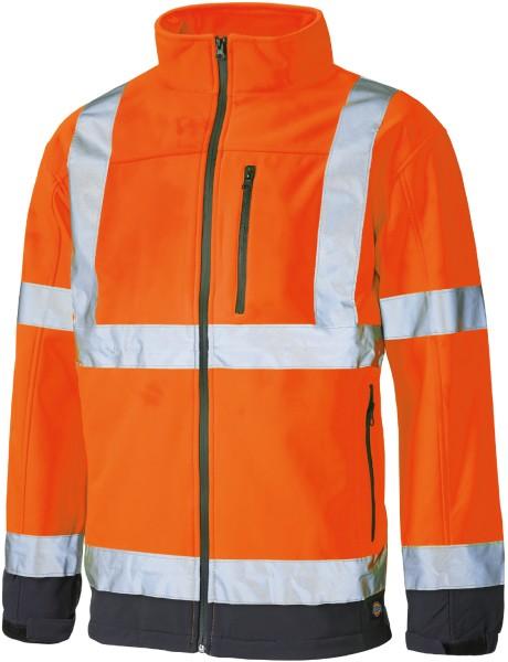 Dickies Go/RT Hochsichtbare Softshell Jacke