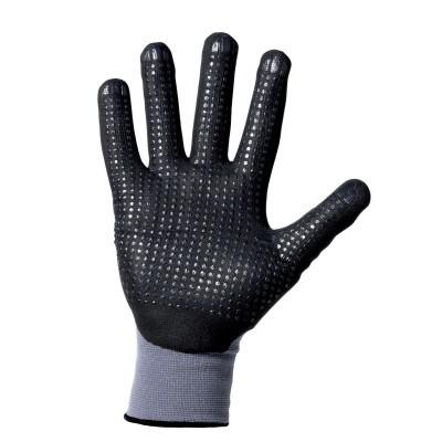 Nitrilschaum-Handschuhe Noppen - 12 Paar