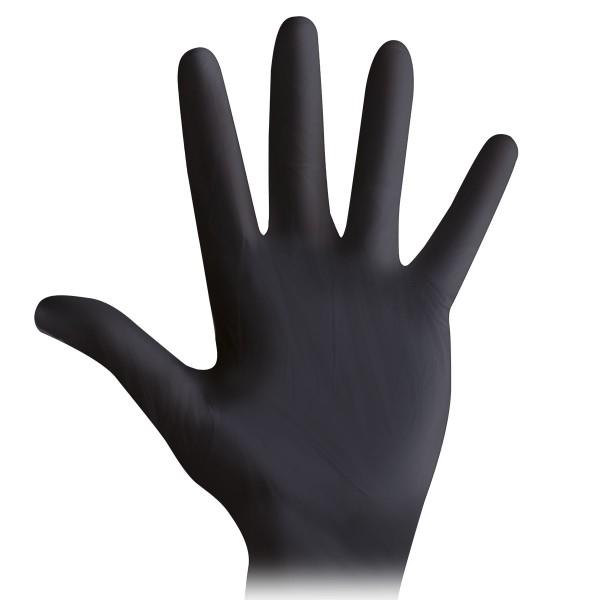 Nitril Handschuhe Schwarz
