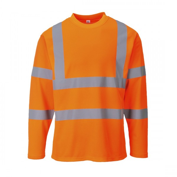 Warnschutz T-Shirt Langarm
