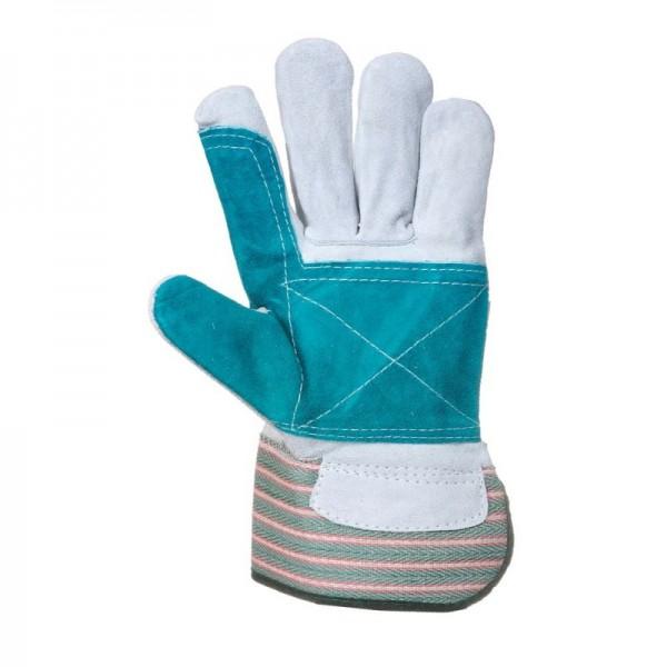 Doppel Palm Handschuhe - 12 Paar