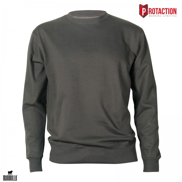 Mandrillo Siderit Sweatshirt Steel Grey