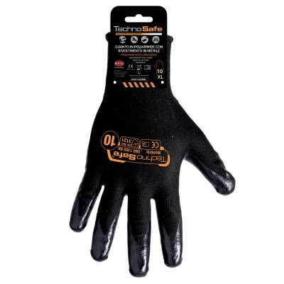 Polyamid Handschuhe Nitril - 12 Paar