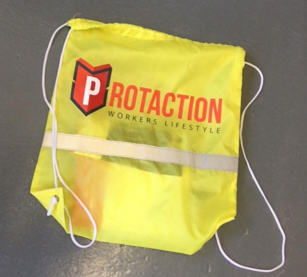 Bausack mit Protaction Logo