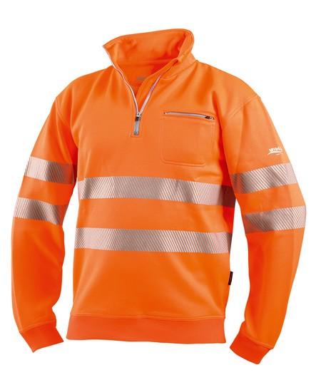 Warnschutz Zip-Sweatshirt