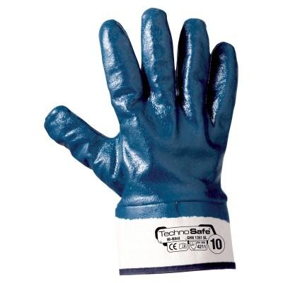Nitril-Beschichtete Handschuhe - 12 Paar
