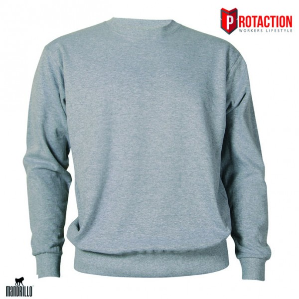 Mandrillo Siderit Sweatshirt Oxford Grey